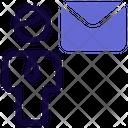 Man Mail Icon