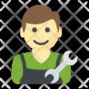 Repairman Mechanic Handyman Icon