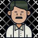 Man Male Mustache Icon
