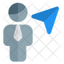 Man Navigation User Navigation User Direction Icon