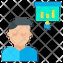 Man Presentation Icon