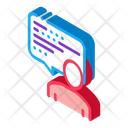Frame Man Quote Icon