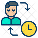 Man Schedule Icon