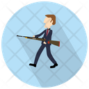 Man Shooting Icon
