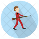 Hunter With Rifle Icon