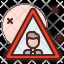 Man Signboard Icon