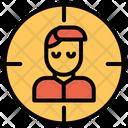 Man Target Icon