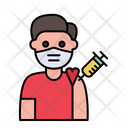 Man Vaccination Icon