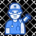 Man Vaccination Paramedic Avatar Icon