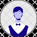 Man Waiter Waiter Staff Icon