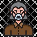 Man Waring Mask Man With Mask Boy Icon