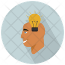 Man With Idea Icon