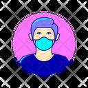 Avatar Man Gentleman Man Icon