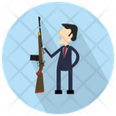 Man With Rifle Icon