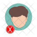 Man without mask Icon