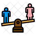 Man Woman Equality Gender Scale Gender Icon