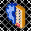 Skyscraper Gear Countdown Icon