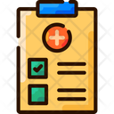 Manage Medical Records Medical Records Clipboard Icon