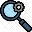 Manage Search Search Engine Magnifier Icon