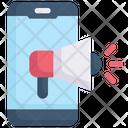 Internet Marketing Smartphone Marketing Promotion Icon