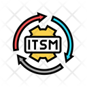It Service Management Icon