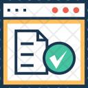 Management Paper Web Icon