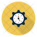 Management Time Setting Icon