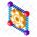 Mechanical Gear Strategy Icon