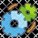 Management Cogwheel Gear Icon