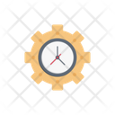 Management Time Business Icon