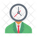 Management Humanresource Time Icon