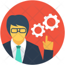 Management Cog Worker Icon