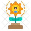 Management Growth Icon