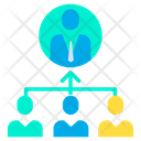 Management Hierarchy Icon
