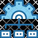 Management Process Optimization Icon