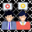 Management Colleagues Management Team Administration Team Icon