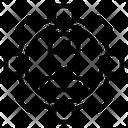 Human Cogwheel Person Icon