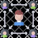 Manager Management Delegation Icon
