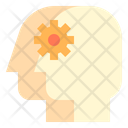 Thinking Process Manager Creative Mind Icon