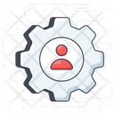 Resource Planner Manager Business Manager Icon
