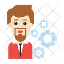 Setting Gear Employee Icon