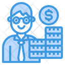 Manager Accounting Businessman Icon