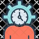Lifespan Clock Life Cycle Icon