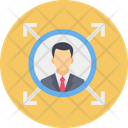 Manager Man Profile Icon
