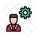 Management Employee Business Icon