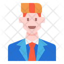 Avatar Business Casual Icon