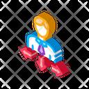Arrow Human Man Icon