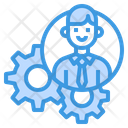 Manager Gear Process Icon