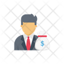 Manager Dollar Cost Icon