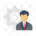 Manager Recruitment Setting Icon